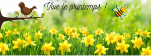 bannière printemps